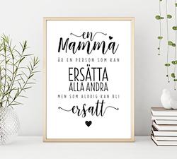 Poster: En mamma