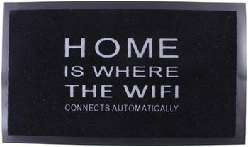 Dörrmatta - Home is where the wifi connects automatically