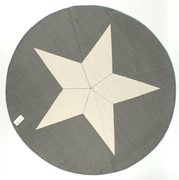 Matta med stjärna, 120cm