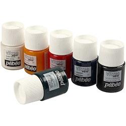 Vitrea 160 glasfärg, mixade färger