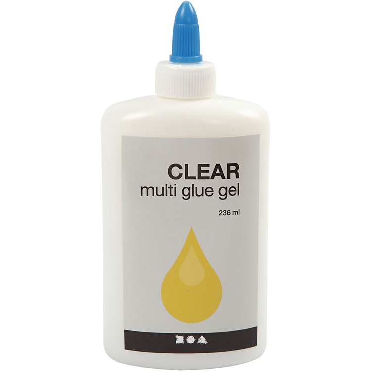 Clear - Multi glue gel
