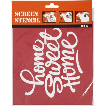 Screen stensil