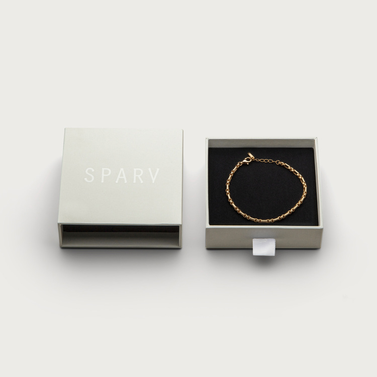 Chain bracelet box