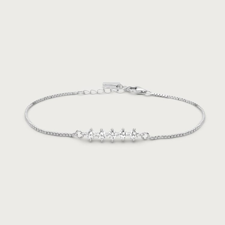 Night sky bracelet silver