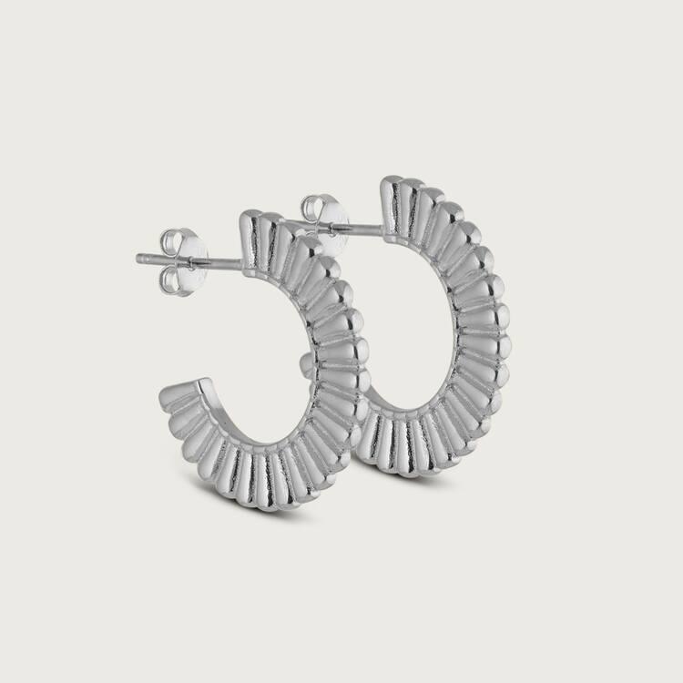 Prisma earrings silver