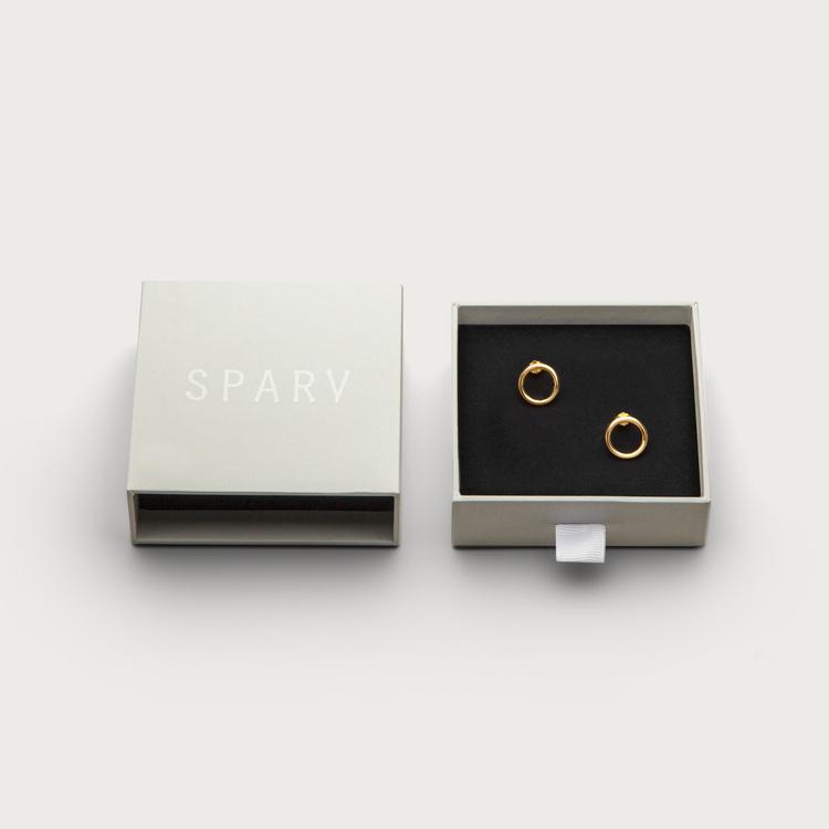Halo earrings Sparv