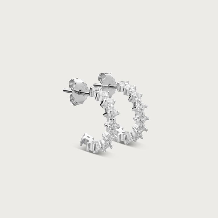 Dreamy earrings silver