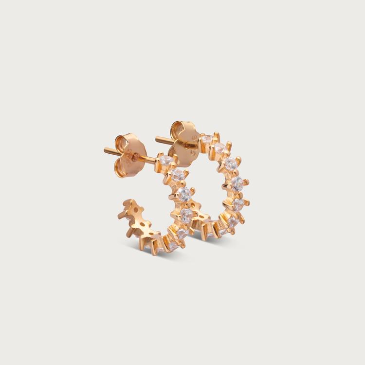 Dreamy earrings gold plated