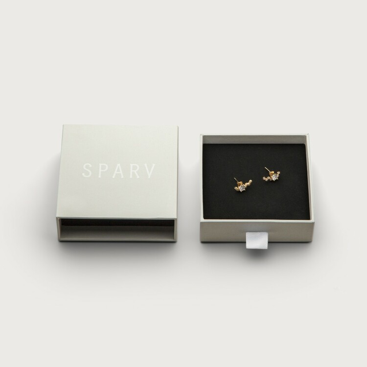 Midnight earrings box