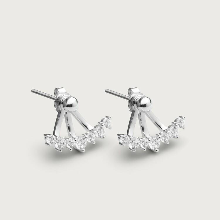 Sparkles earrings silver