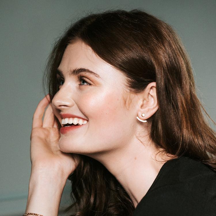 Graphic earrings Mikaela