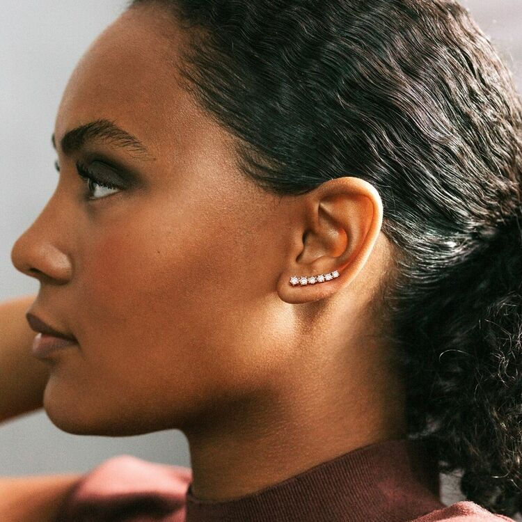 Dazzling earrings Ellen