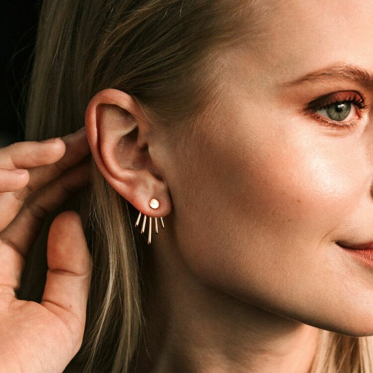 Twisted earrings Nellie