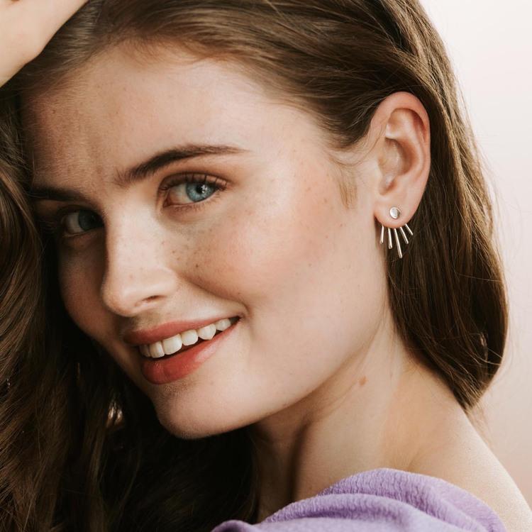 Twisted earrings Mikaela