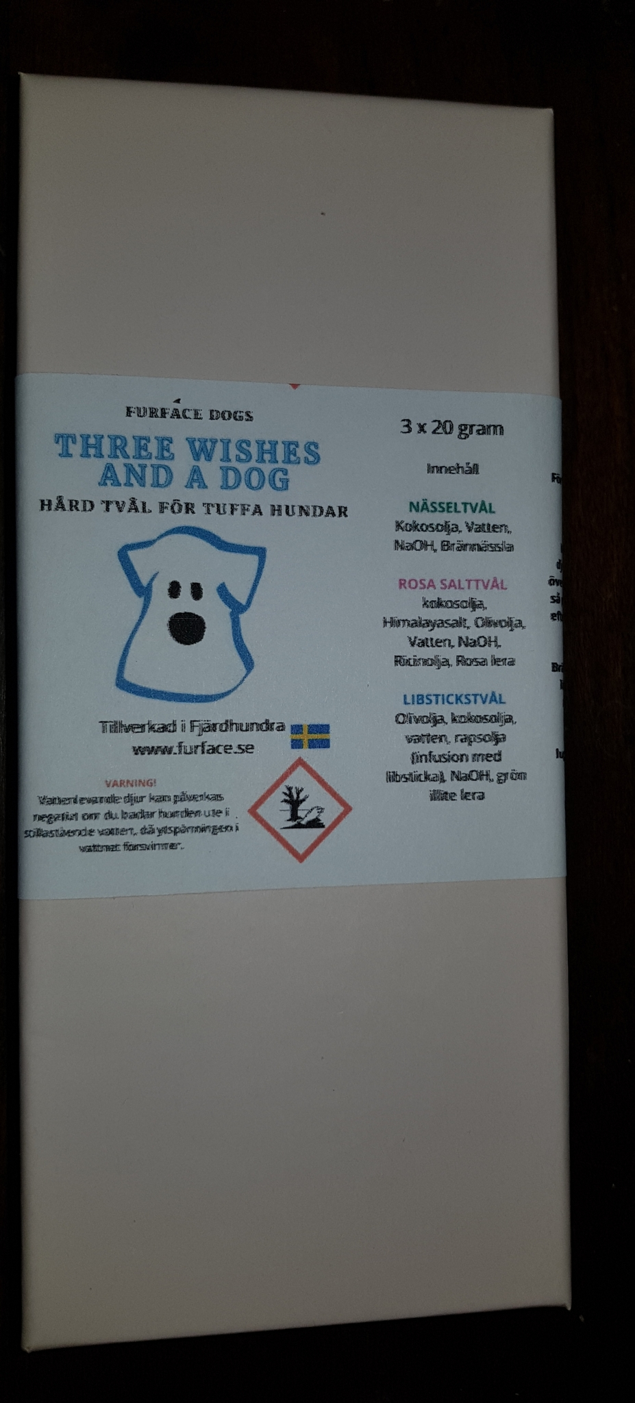 Three wishes and a Dog - presentask