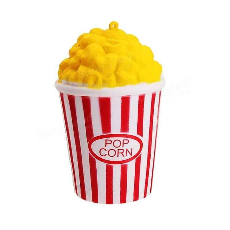 Yummy Popcorn Jumbo Squishy