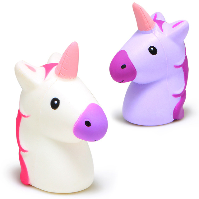 Unicorn Head Jumbo Squishy