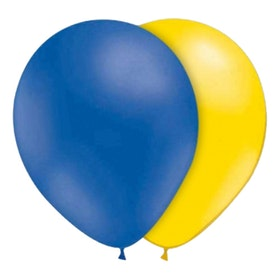 Ballonger Blå/Gula