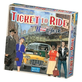 TICKET TO RIDE: NEW YORK (SWE.)