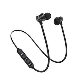 Magnetiska Trådlösa Sporthörlurar - Bluetooth 4.2