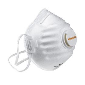 Munskydd filtrerande med ventil Worksafe FFP2 5-pack
