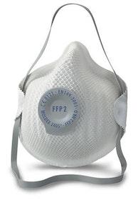 Munskydd filtrerande ventil Moldex 2405 FFP2 2-pack
