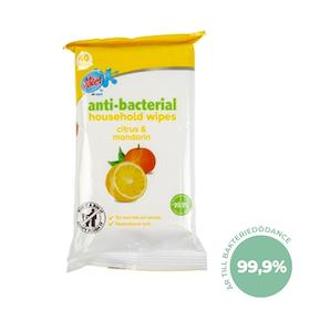 Antibakteriell Rengöringsservetter Citrus & Mandarin 40-pack