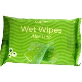 Våtservetter Gunry Aloe Vera 10-pack