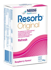 Resorb Original Hallon brustabletter 20st