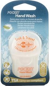 Pocket Handtvål 50st blad (tvättar)