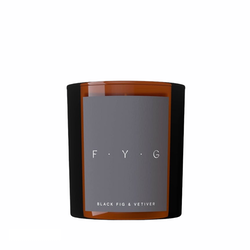 FYG Doftljus Black Fig & Vertiver