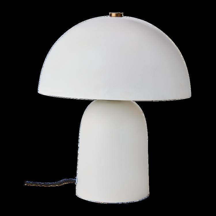 Fungi Bordslampa Vit