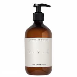 FYG Hand & Body Lotion Lemongrass & Ginger