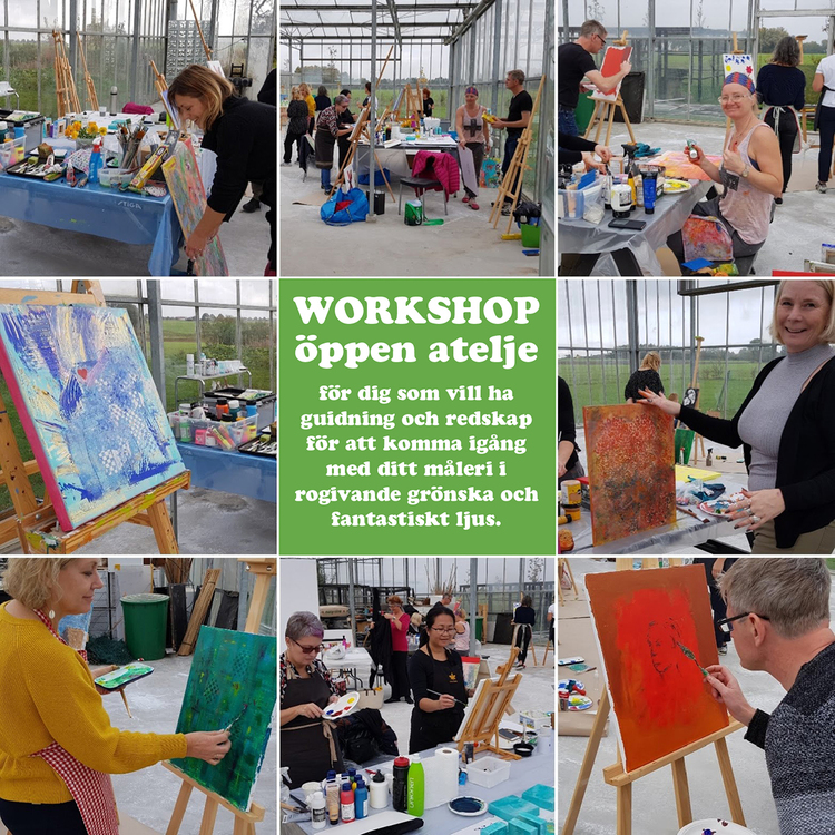 Workshop - Öppen Atelje - 31 mars