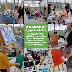 Workshop - Öppen Atelje - 31 mars