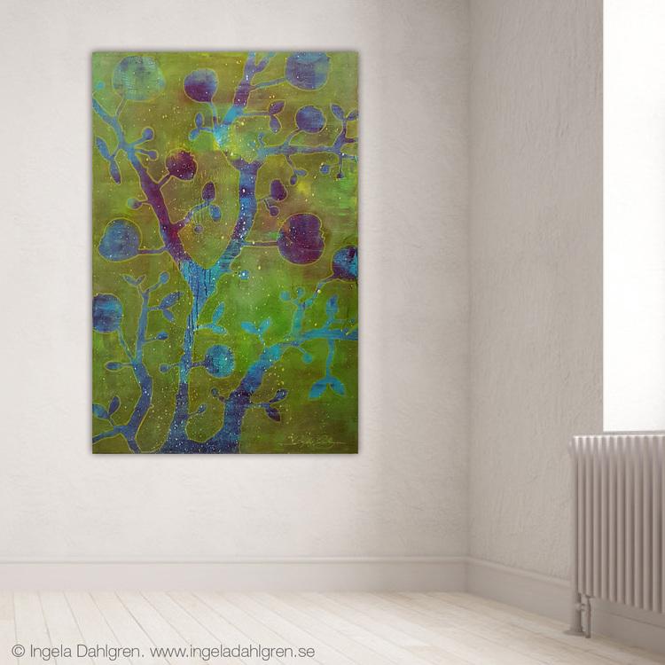 Purple Rain of Opal