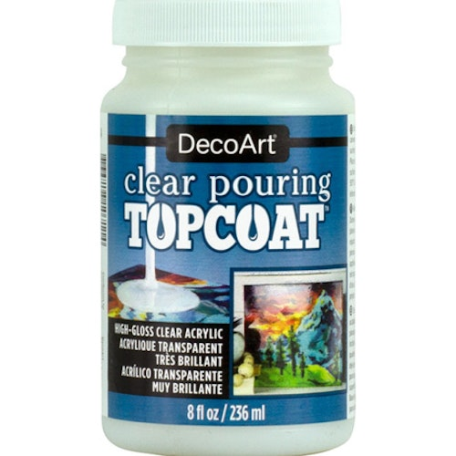 Pouring Topcoat 236 ml