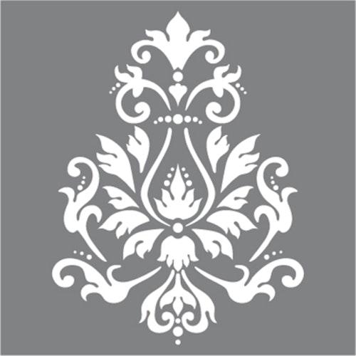 Schablon Brocade