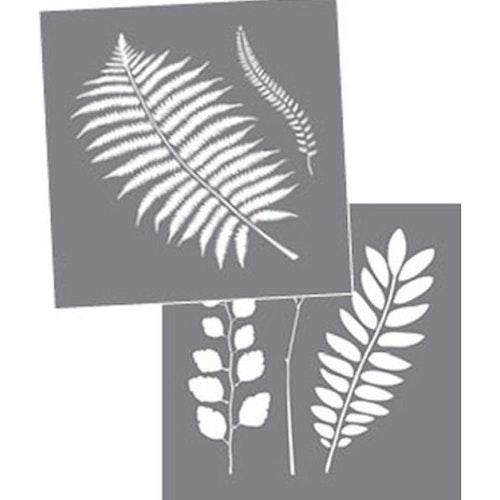 Schablon Botanical 2 st