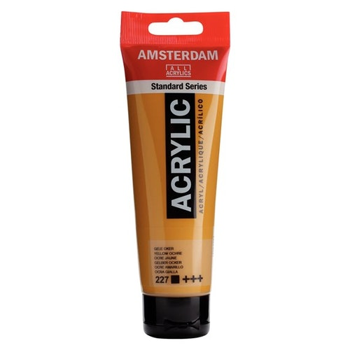 Yellow Ochre 227 - Amsterdam Akrylfärg 120 ml