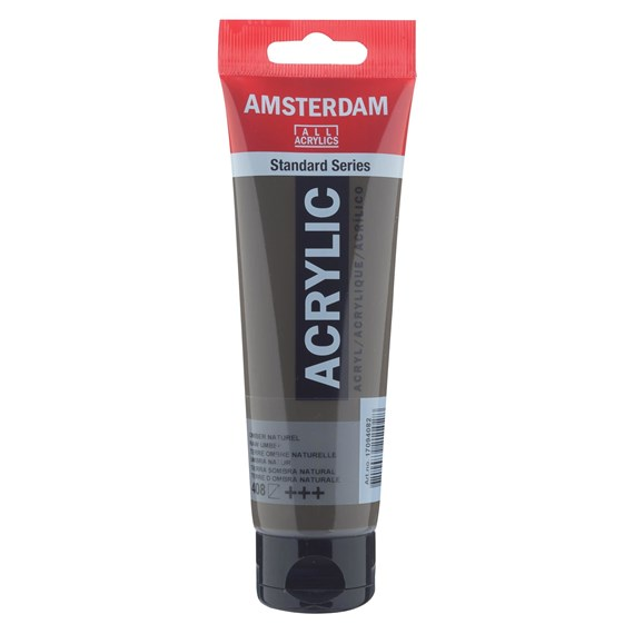 Raw Umbra 408 - Amsterdam Akrylfärg 120 ml