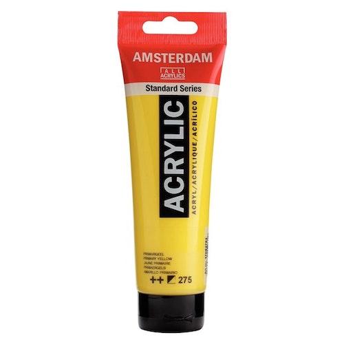 Primary Yellow 275 - Amsterdam Akrylfärg 120 ml