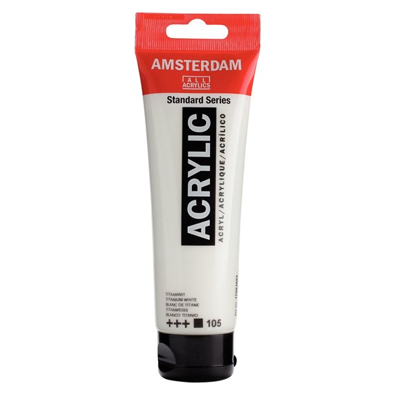 Titanum White 105 - Amsterdam Akrylfärg 120 ml