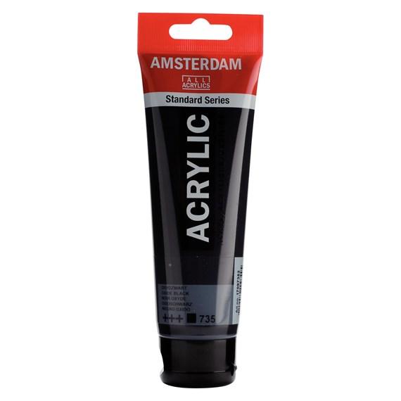 Oxid Black 735 - Amsterdam Akrylfärg 120 ml