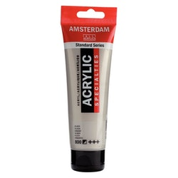 Silver 800 - Amsterdam Akrylfärg 120 ml