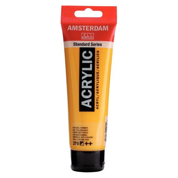 Azo yellow deep 270 - Amsterdam Akrylfärg 120 ml
