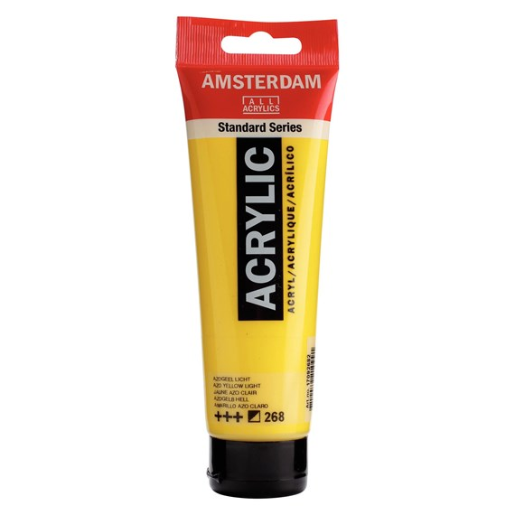 Azo yellow light 268 - Amsterdam Akrylfärg 120 ml