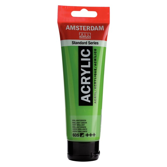 Brilliant Green 605 - Amsterdam Akrylfärg 120 ml