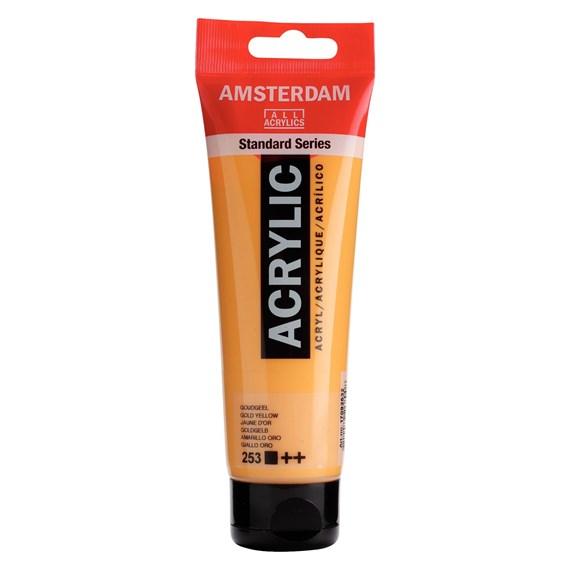 Gold yellow 253 - Amsterdam Akrylfärg 120 ml