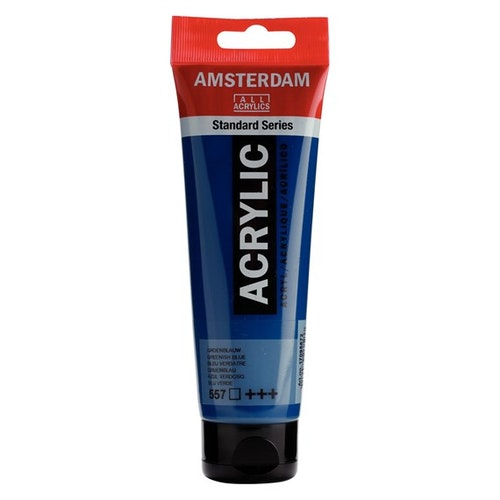 Greenish blue 557 - Amsterdam Akrylfärg 120 ml